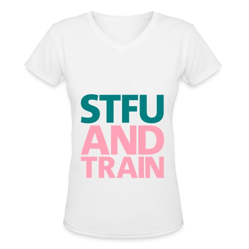 STFU - Women's V-Neck T-Shirt