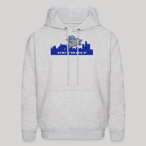 Detroit Flying Pig - Men's Hoodie