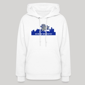 Detroit Flying Pig - Women's Hoodie
