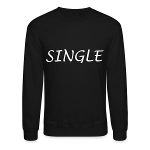 Single Crew Neck Sweatshirt - Crewneck Sweatshirt