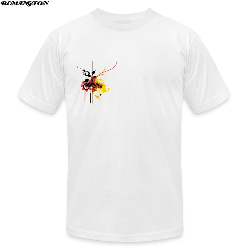 REMY TEE WHITE - Men's Fine Jersey T-Shirt