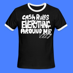 C.R.E.A.M. Cash Rules Everyone Around Me T-Shirts - stayflyclothing.com - Men's Ringer T-Shirt