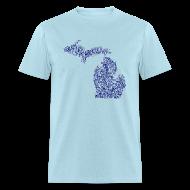 T-Shirts ~ Men's T-Shirt ~ Native Michigan