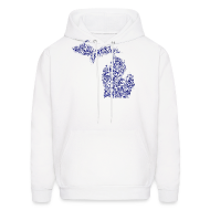 Hoodies ~ Men's Hoodie ~ Native Michigan