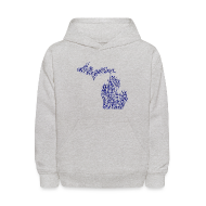 Sweatshirts ~ Kids' Hoodie ~ Native Michigan