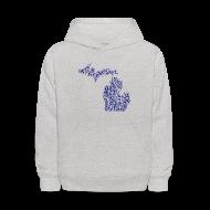 Sweatshirts ~ Kids' Hoodie ~ Native Michigan