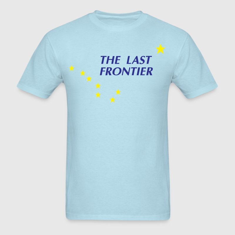 Alaska The Last Frontier T-Shirts - Men's T-Shirt