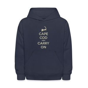 Cape Cod and Carry On - Kids' Hoodie