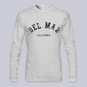 Del Mar CA - Men's Long Sleeve T-Shirt by Next Level