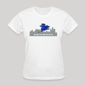 Detroit Flying Pig - Women's T-Shirt