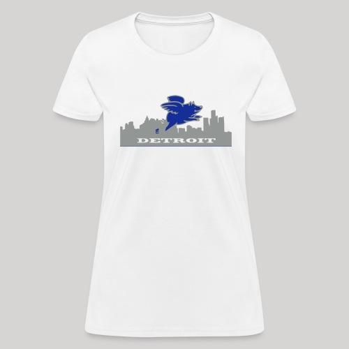 Detroit Flying Pig - Women's T-Shirt