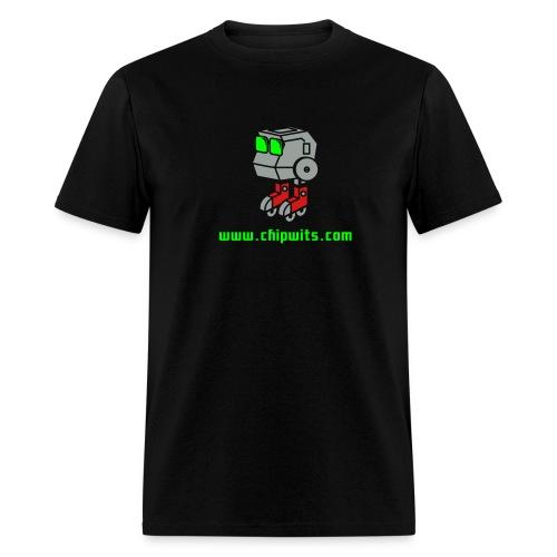 Lightweight cotton T-Shirt - Chipwit (black) - Men's T-Shirt