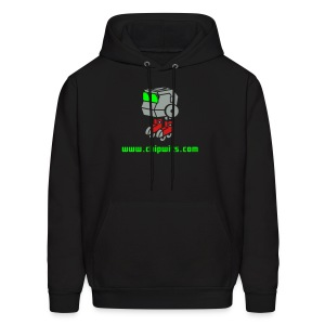 Hooded Sweatshirt - Chipwit (black) - Men's Hoodie