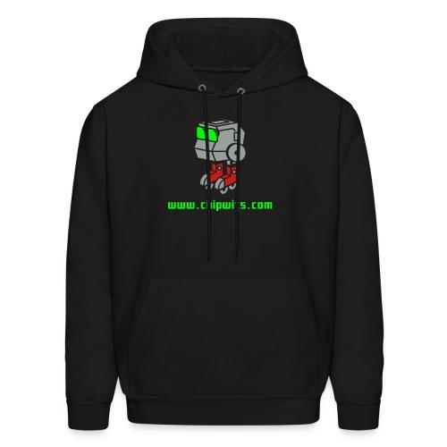 Hooded Sweatshirt - Chipwit (black) - Men's Hoodie