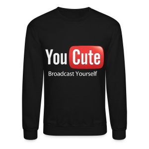 YouCute (White Text) - Crewneck Sweatshirt