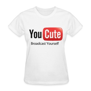 YouCute (Black Text) - Women's T-Shirt