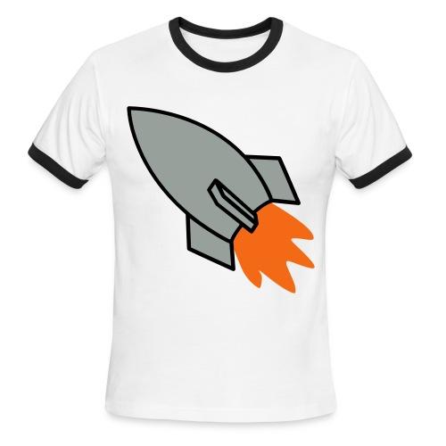 TO THE MOON - Men's Ringer T-Shirt