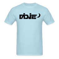 T-Shirts ~ Men's T-Shirt ~ MiDNiTE Logo BLACK