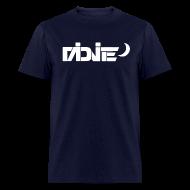 T-Shirts ~ Men's T-Shirt ~ MiDNiTE Logo WHITE