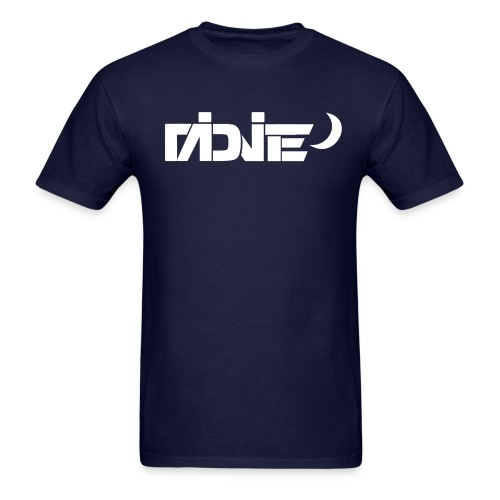 MiDNiTE Logo WHITE - Men's T-Shirt
