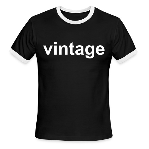Men's Ringer T-Shirt - the vintage shirt