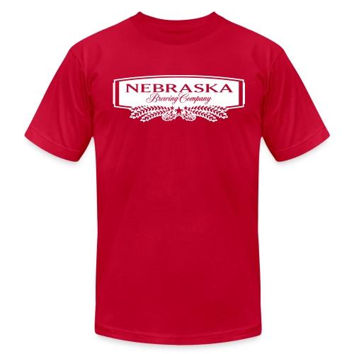 NBC Corporate Logo Men's T-Shirt by American Apparel - Men's Fine Jersey T-Shirt