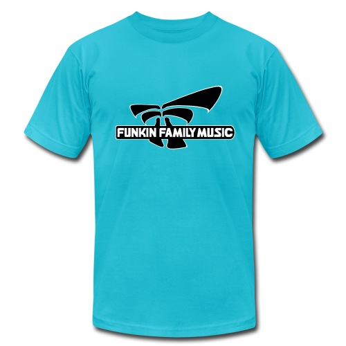 Funkin Family Tee by American Apparel  - Men's Fine Jersey T-Shirt