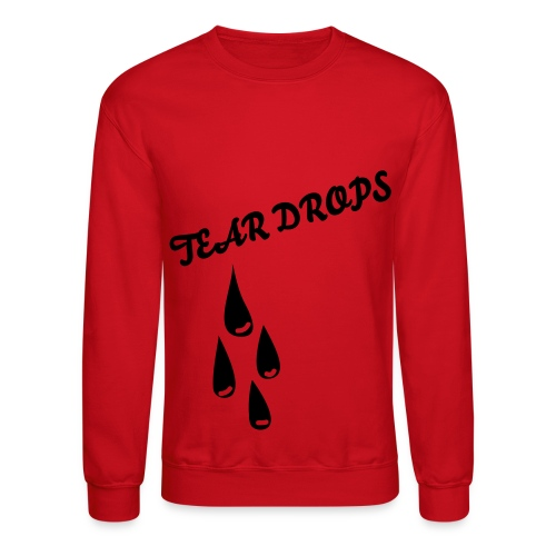 TEAR DROPS - Crewneck Sweatshirt