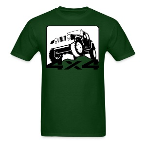 4X4 Off-road Jeep - Men's T-Shirt