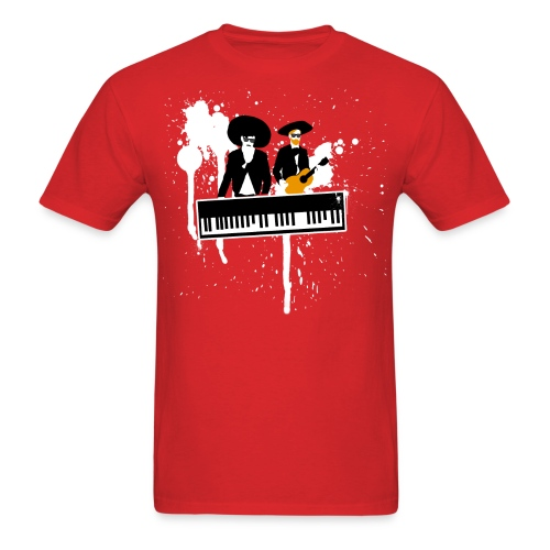 Las Teclas de Negro - Men's T-Shirt