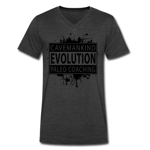 CMK Coaching Evolution V-Neck T - Men's V-Neck T-Shirt by Canvas