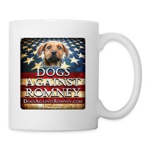 Official Dogs Against Romney Mutt Coffee Mug (Rusty) - Coffee/Tea Mug