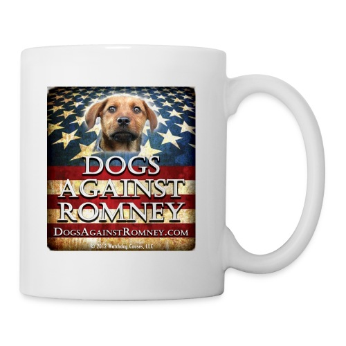 Official Dogs Against Romney Mutt Coffee Mug (Rusty) - Coffee/Tea Mug