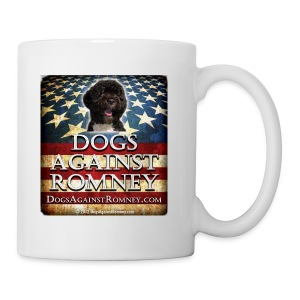 Official Dogs Against Romney Portuguese Water Dog Coffee Mug - Coffee/Tea Mug