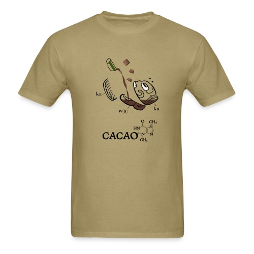 Cacao - men's basic tee - Men's T-Shirt