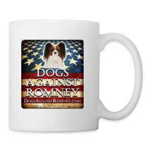 Official Dogs Against Romney Papillion Coffee Mug - Coffee/Tea Mug