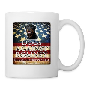 Official Dogs Against Romney Rottweiler Coffee Mug - Coffee/Tea Mug