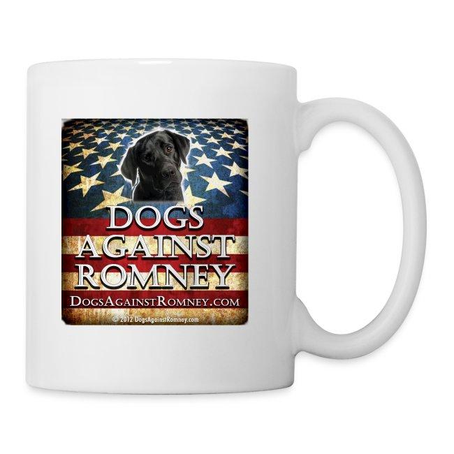 Official Dogs Against Romney Black Lab Coffee Mug