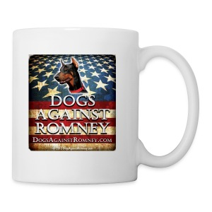Official Dogs Against Romney Doberman Coffee Mug - Coffee/Tea Mug