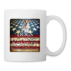 Official Dogs Against Romney Jack Russell Coffee Mug - Coffee/Tea Mug