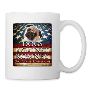 Official Dogs Against Romney Pug Coffee Mug - Coffee/Tea Mug