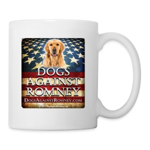 Official Dogs Against Romney Golden Retriever Coffee Mug - Coffee/Tea Mug
