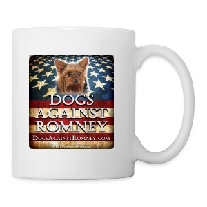 Official Dogs Against Romney Yorkie Coffee Mug - Coffee/Tea Mug