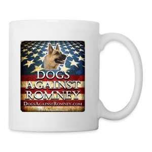 Official Dogs Against Romney German Shepherd Coffee Mug - Coffee/Tea Mug