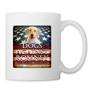 Official Dogs Against Romney Yellow Lab Coffee Mug - Coffee/Tea Mug