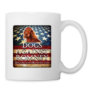 Official Dogs Against Romney Irish Setter Coffee Mug - Coffee/Tea Mug