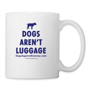 Official Dogs Against Romney Dogs Aren't Luggage Coffee Mug - Coffee/Tea Mug