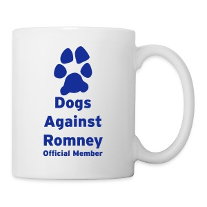 Dogs Against Romney Official Member Coffee Mug  - Coffee/Tea Mug