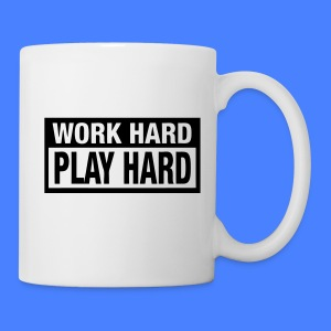 Work Hard Play Hard Mugs - stayflyclothing.com - Coffee/Tea Mug