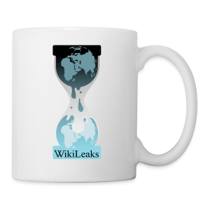 WikiLeaks Hourglass Mug - Coffee/Tea Mug